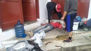 Seorang Pekerja PDAM Tirtanadi Berastagi Tewas Tersetrum Api Listrik Tegangan Tinggi