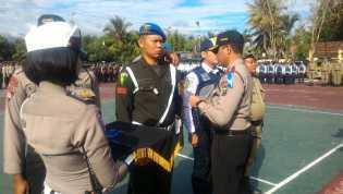 Kapolres Madina Pimpin Upacara Gelar Pasukan Operasi Zebra Toba 2017