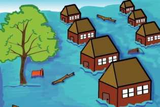 Curah Hujan Cukup Tinggi, Dua Kecamatan di Gorontalo Utara Terendam Banjir