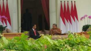 Presiden Jokowi dan SBY Bahas Soal UU Ormas