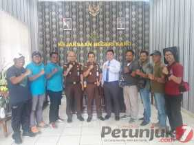 Pererat Silahturahmi Bersama Insan Pers, Kejari Karo: Tanpa Media Kami Bukan Apa - apa...