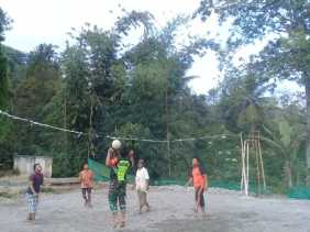 Ini Tujuan Koramil 05/Payung Gelar Pertandingan Voli Bagi Pemuda Desa Perbaji