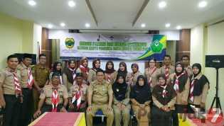 Diskes-PPKB Kabupaten Lingga dan  Saka Bakti Husada Gelar Kursus Pamong dan Instruktur