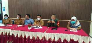 Kecamatan Merdeka Gelar Rapat Koordinasi Gugus Tugas Percepatan Penanganan Pandemi Covid-19