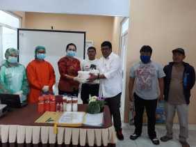 Selain Anggota DPRD Karo Kunker ke Puskesmas Juga Bantu APD, Dodi Sinuhaji: Ternyata Minim APD