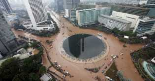 97% Tertutup Aspal dan Beton, Jakarta Terancam Tenggelam Lebih Cepat