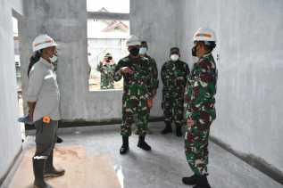 Pangdam I/BB Mayjen TNI Hassanudin Gelar Pertemuan Dengan Satgas Covid-19 Dan Cek Rumah Isoter Di Ni