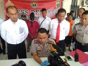 Press Release Polres Tanah Karo: Ungkap Kasus Narkoba, Judi, Curanmor dan Pembunuhan