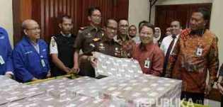 Rp87 Miliar: Kejati Jakarta Setorkan Uang Terpidana BLBI ke Kas Negara
