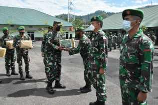 Danrem 023/KS Kolonel Inf Febriel Buyung : Ini Merupakan Bentuk Perhatian Satuan Kepada Prajurit dan