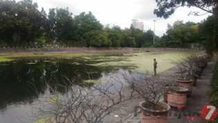 Taman Kota di Jalan Diponegoro Butuh Perhatian Serius