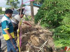 Longsor di Desa Sukandebi (Karo), Japet: Pengendara Hati - hati Melintas