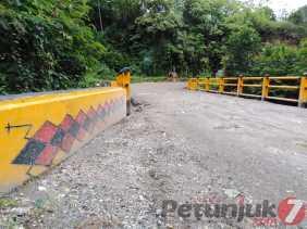 Sebelumnya Jembatan Tiga Pancur Rawan, Kini Diperbaiki PUPR Karo dan Ada Ornamen Pengretret