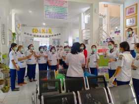 Puskesmas Kecamatan Berastagi Sosialisasi Pencegahan Virus Corona Kepada Masyarakat