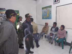 Puluhan Warga di Kecamatan Berastagi Terjaring Razia Terkait Kelengkapan Kependudukan