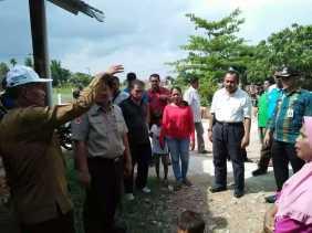 Persisnya Perbatasan Kampar, Plt Wako Pekanbaru Tinjau Banjir di Cipta Karya