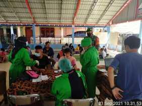 Komitmen Bantu Pemerintah Putus Rantai Covid-19, Dandim 0205/TK Perintahkan Danramil Berperan Aktif