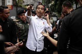 Jokowi: Tak Semudah Itu Menggerus Elektabilitas Saya