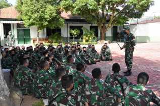 Danrem / KS Kolonel Inf Febriel Buyung: Kalau Menjalankan Tugas, Tetap Ikuti Prokes