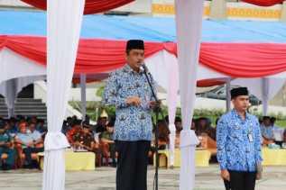 Sekdaprov Riau Pimpin Upacara Peringatan Hari Bela Negara Tahun 2018