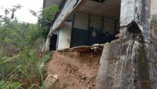 Ada Gedung SDN 043240 Desa Kutabuluh Terancam Longsor, Ini Respon Kadisdik Karo...