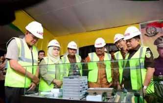 Jaksa Agung Hadiri Peletakan Batu Pertama Pembangunan Gedung Kejati Riau