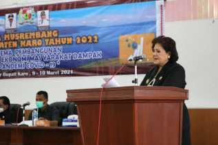 Wakil Bupati Secara Resmi Buka Pra Musrbang RKPD Tahun 2022 Kabupaten Karo