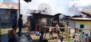 Tiga Rumah Ludes Terbakar di Desa Parimbalang Saat Pemiliknya Diladang