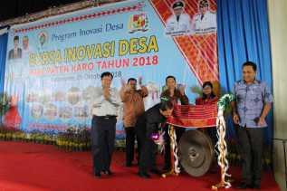 Bupati Karo Buka Acara Bursa Inovasi Desa Tahun 2018