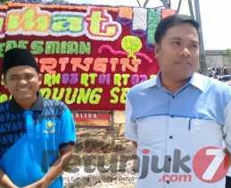 Tanpa APBD, Masyarakat Membangun Pasar Pagi Sungai Sibam