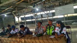 Anggota KPPS di Dolatrayat Dilantik, Babinsa Berharap Bekerja Sesuai Petunjuk Teknis Aturan