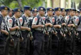 2 SSK Brimob Polda Riau Dikirim ke Jakarta Amankan Penetapan Hasil Pemilu 2019
