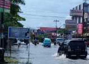 Banjir di Darma Bakti Belum Surut