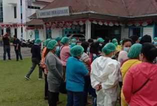 Ada Apa? Paramedis di RSUD Kabanjahe Unjuk Rasa Tuntut Dana Lelah Covid -  19