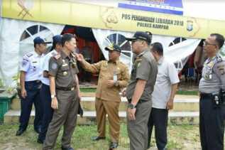 Wakapolda Riau dan Forkopimda Tinjau Kesiapan Pos Pam Lebaran 2018