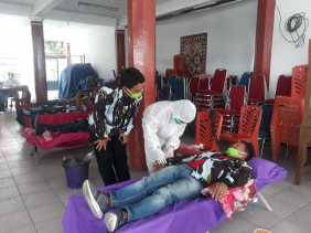 DPD IPK Karo Gelar Aksi Donor Darah, Gembira Ginting: Setetes Darah Bisa Selamatkan Banyak Nyawa