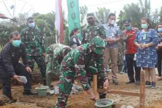 Kodim 0205/TK Bangun Sumur Bor dan MCK di Tiga Desa, Dandim: Instruksi Pimpinan