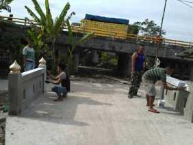 Hari ke 15 TNI-MMD bersama Masyarakat, Pengerjaan Box Culvert di Rajabejamu: Hampir Rampung