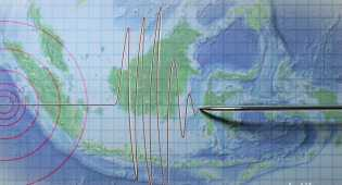 Gempa 5,3 SR di Bengkulu Terjadi di Kabupaten Kaur