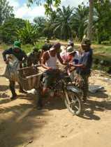 Kegiatan Hari ke 9 TNI-MMD di Rohil bersama Masyarakat Tercipta 'Kekuatan 55'