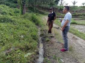 Anggota DPRD Karo Akan Tinjau Proyek Embung  di Desa Sukababo, Jon: Harus Sesuai Kebutuhan Petani