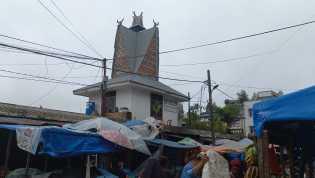 Pemasangan Bendera Merah Putih Di Kelurahan TL Mulgap II Berastagi Masih Minim