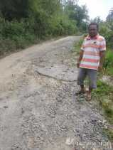 Jalan Sepanjang 7 KM dari Desa Kutagunggung ke Batumamak - Sukababa (Juhar) Butuh Diperbaiki