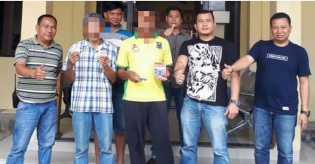 Polres Madina Ringkus 1 Orang Penjual dan 1 Orang Pembeli Judi Togel dari Warung