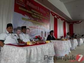 4 Balon Walikota dan Wawako Padangsidimpuan dari Gerindra