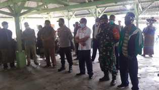Pantau Hajatan Babinsa Koramil 01/BJ Himbau warga tetap patuhi Prokes untuk Cegah Covid-19