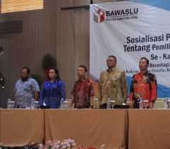 Bawaslu Karo Sosialisasi Peraturan Pengawasan Pemilu 2019
