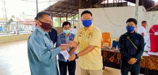 Pemdes Sempajaya Bagikan BLT - DD Tahap III ke Warga, Kasi Datun Kejari Karo: Harus Transparan