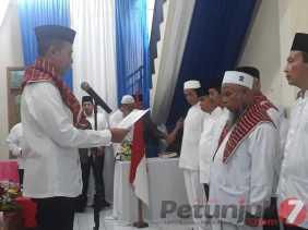 Dilantik Wagubsu, H.M. Nurdin Ginting Jawak Resmi  Ketua IPHI Karo