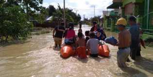 Hujan Lebat, 22 kelurahan di Tebing Tinggi kebanjiran